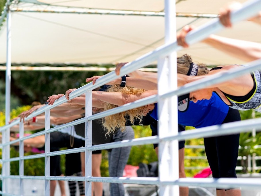 Position Barre Bootcamp